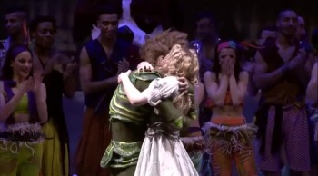 Peter Pan Shocks an Entire Crowd by Stopping this Production - to Propose to Wendy