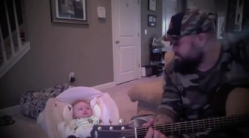 Daddy Sings the SWEETEST First Lullaby to His Baby! This Will Surely Melt Your Heart