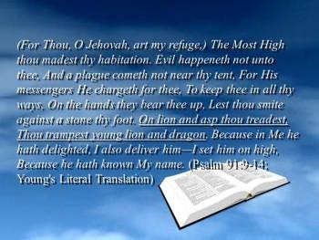 Overcoming Satan through God's Word (Part 4)