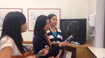 GFAC Bible Workers Sing at GAMC