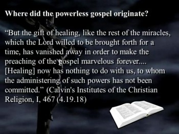Confronting the Powerless Gospel with God's Word (Part 1) - Sermon Videos