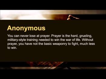 "Philip James Bailey: ""Prayer is the spirit speaking truth to Truth."" (The Prayer Motivator Minute #502)"