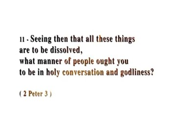 Prophecy of St. Peter - World will be Chastised by Fire