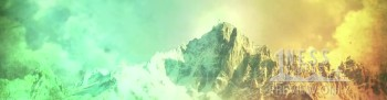 Mountain View Triple Wide Environmental Projection Background - Oneness Videos