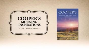 Xulon Press bookCOOPER'S MORNING INSPIRATIONS|Elder Tyrone D. Cooper