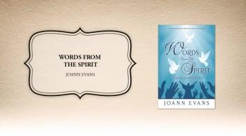 Xulon Press book Words From The Spirit | Joann Evans