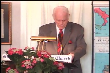 "BFTBC – James 2:1-13 – ""The Sin of Respecting Persons""  – Pastor D. A. Waite"
