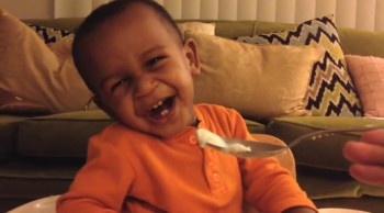 World's Most ADORABLE Baby Has Giggle Fest!