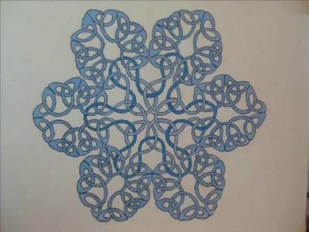 celtic snowflake animation
