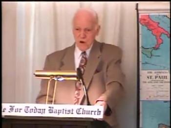 """BFTBC – James 3:10-18  – """"God's Wisdom or the Devil's?""""  – Pastor D. A. Waite"""