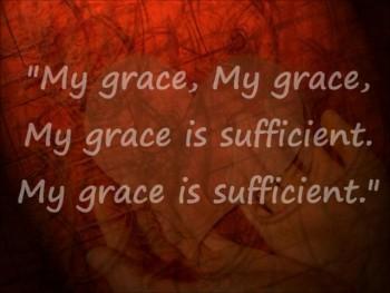 My Grace is Sufficient Shane & Shane lyrics video