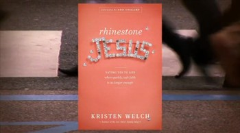 Crosswalk.com: Saying Yes to God When Sparkly, Safe Faith Isn't Enough - Kristen Welch