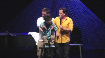 Ventriloquist Taylor Mason and His Pal Romeo