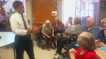 Mark Lastimoso:Outreach at Elms Convalescent
