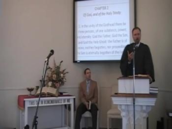 """Making Sense of the Trinity""  Rev. R. Scott MacLaren, First OP Church Perkasie PA"
