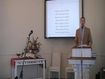 "Congregational Hymn: ""Like a River Glorious,"" First OPC Perkasie PA 6/08/14"