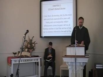 """""""God's Eternal Decree,"""" WCF 3:1, Rev. R S MacLaren, First OPC Perkasie, PA"""