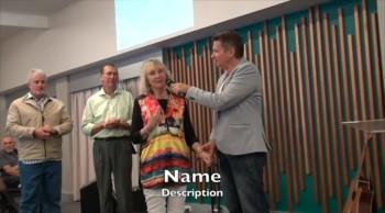Pastor healed of stiff painful neck and headache - John Mellor Healing Evangelist
