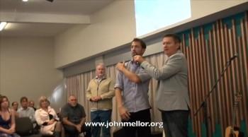 Painful shoulder healed - John Mellor Australian Healing Evangelist