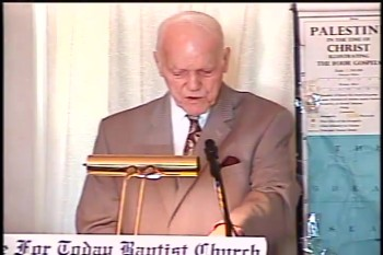 "BFTBC – ""What Happened At Calvary?""  – Pastor D. A. Waite"