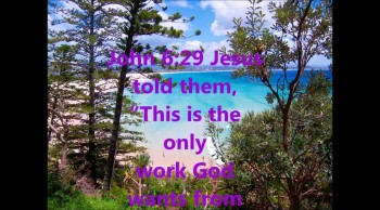 THE WORK GOD WANTS FROM YOU