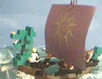 """Lego """"Dawn Treader"""""""