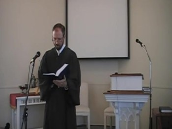 First Presbyterian Church Worship Svc. 8/10/2014,  Rev. R. Scott MacLaren