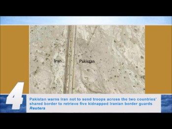Iran threatens to send troops into Pakistan; Says it will not shut down any nuclear plants (SCWU #480)