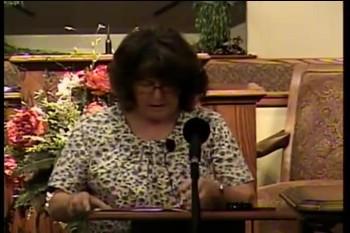 "DBS  – ""Dean Burgon Society 2014 Ladies' Meeting"" -- Pamela Bennett"