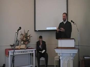 """Election and Reprobation,"" Rev. R. Scott MacLaren, WCF 3:7, 8/10/2014"