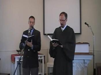 """Unto the Hills Around Do I Lift Up..."" Trinity Hymnal #82; Waggoner & MacLaren"