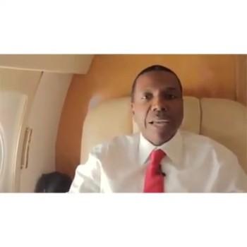 Creflo Dollar Just touched down in Kenya