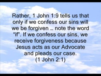 Are Our Future Sins Forgiven?