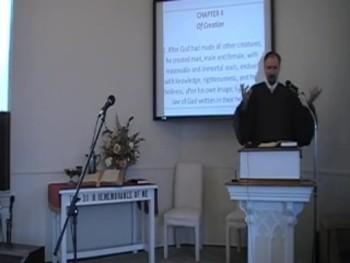 """Man in God's Image,"" WCF 4:2a, Rev. R. Scott MacLaren 8/31/2014"