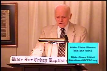 BFTBC – Acts 5:26-31  – Midweek Service  – Pastor D. A. Waite