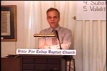 BFTBC – History of Fundamentalism Class #1 –Defining Fundamentalism & The Early Revival Meetings