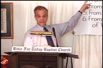Part 4 -- BFTBC – History of Fundamentalism Class #2 –The Fruits of the Niagara Bible Conference