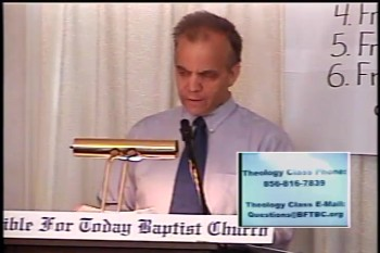 Part 2 - BFTBC – History of Fundamentalism Class #2 –The Fruits of the Niagara Bible Conference