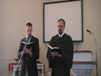 """""""Hark! the Voice of Love and Mercy,"""" Trinity Hymnal #187 Waggoner & MacLaren"""