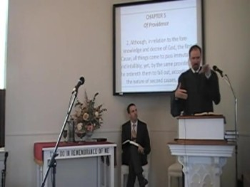 """Second Causes,"" WCF 5:2-3 (Providence) Rev. R. Scott MacLaren 9/28/14"