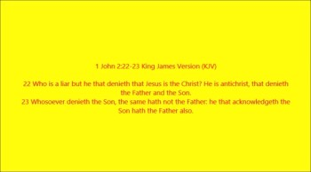2 JOHN 1:4-11 EXPLAINED: THE DOCTRINE OF CHRIST
