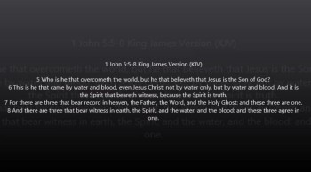 JESUS IS THE FATHER, WORD & HOLY GHOST