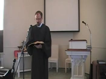 First OPC Perkasie PA Worship Service, 10/12/2014