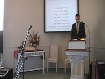"""""""God Himself Is With Us,"""" """"Now Unto Jehovah,"""" Trinity Hymnal First OPC Perkasie PA"""