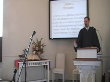 """A Humbling Providence,"" WCF 5:5. Rev. R. Scott MacLaren First OPC Perkasie PA"