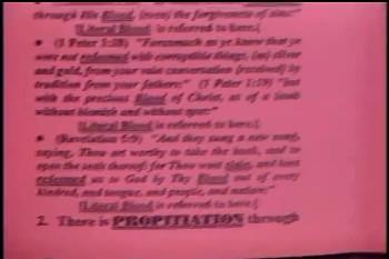 "Part 1 --  ""Christ's Cleansing Blood"" – Pastor D. A. Waite"