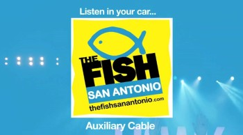 Listen to the Fish San Antonio if your car has CD Player and Auxiliary Cable