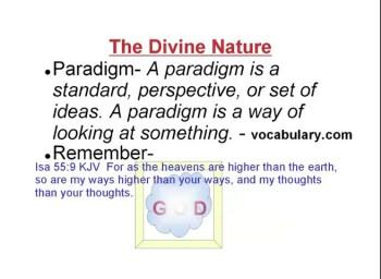 The Divine Nature 1