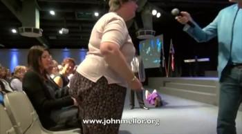 Painful carpal tunnel miracle healing - John Mellor Healing Ministry