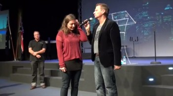 Demons of yoga cast out and lady healed - John Mellor Australian Healing Evangelist